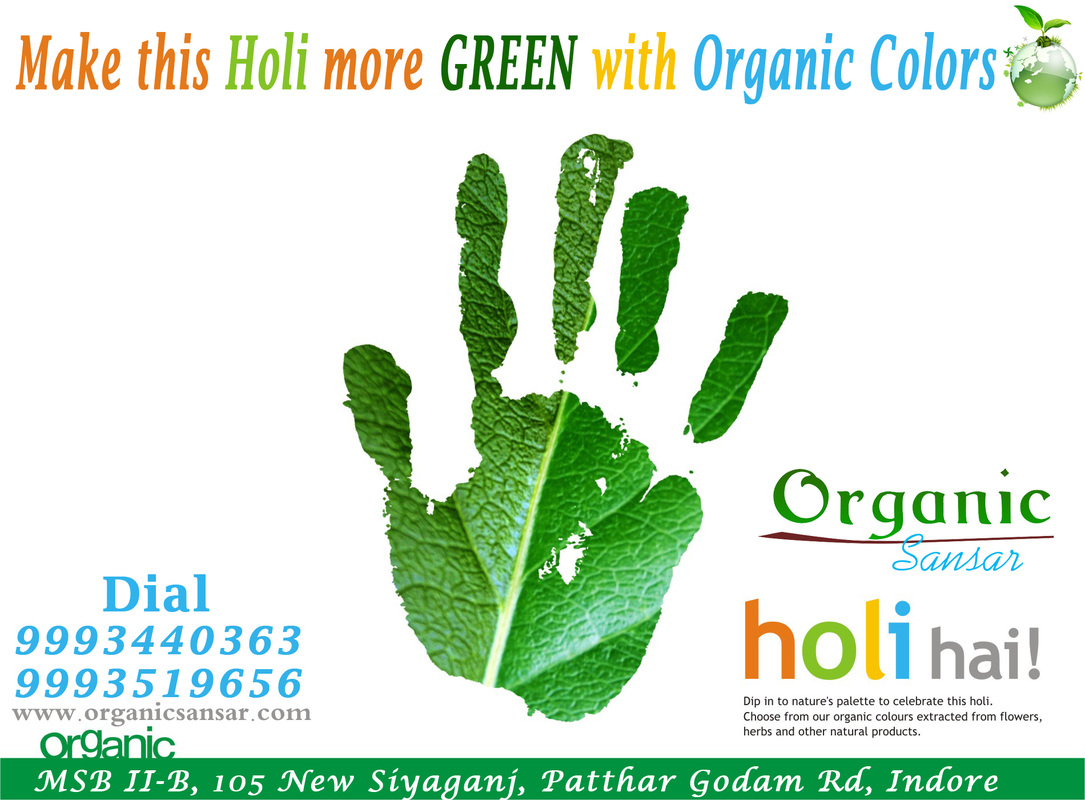 Natural & Organic Holi Colors by Organic Sansar, Indore